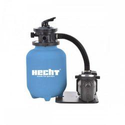 """Hecht 302113 homokszűrős vízforgató 10"""" előszűrővel"""