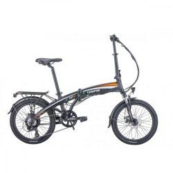 Hecht Compos elektromos kerékpár, összecsukható, fekete