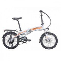Hecht Compos elektromos kerékpár, összecsukható, fehér