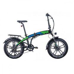 Hecht Compos XL elektromos kerékpár, összecsukható, fekete