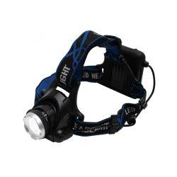 LED-es fém fejlámpa, ZOOM, 800 lumen