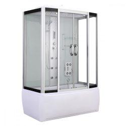Emilia 150 Hidromasszázs Kádkabin elektonikával White