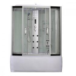 Emilia 170 Hidromasszázs Kádkabin elektonikával White