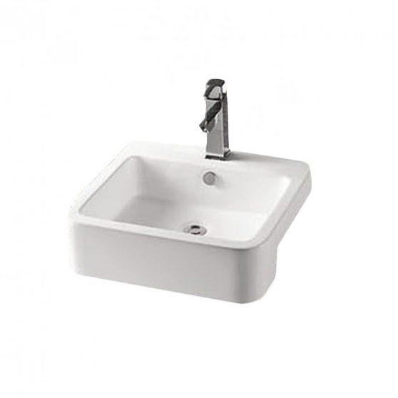 K711 - Ráépíthető kerámia mosdótál