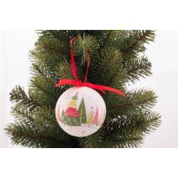 Karácsonyi gömbdísz