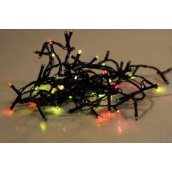 Napszínes LED fényfüzér - többszínű