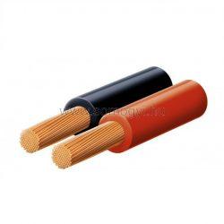 Hangszóróvezeték, piros-fekete, 2x1,5 mm, 100 m/tekercs