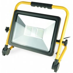 Műhelylámpa 100W SMD LED, ALU panel, állvány, IP65