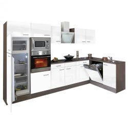 Yorki 340 beépíthető sarok konyhablokk