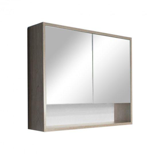 Luna 80 felső tükrös szekrény, Sonoma tölgy
