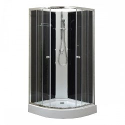 Marco Black II zuhanykabin zuhanytálcával