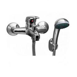 GAEL 1 kád csaptelep zuhanyszettel lyukas fogantyú króm