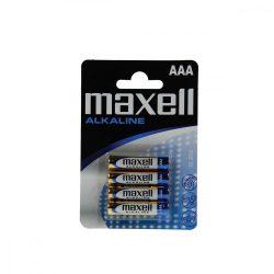 Maxell LR03 AAA elem, alkáli, 1,5V