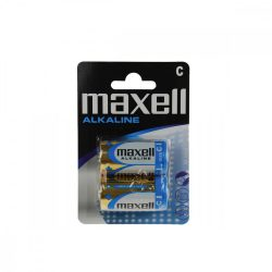 Maxell LR14 C elem, alkáli, 1,5V