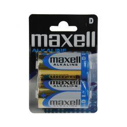 Maxell LR20 D elem, alkáli, 1,5V
