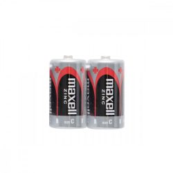 Maxell R14 C elem, féltartós, 1,5V