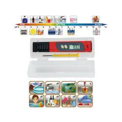 pH teszter & hőmérő