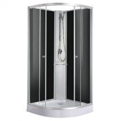 RIO komplett íves zuhanykabin zuhanytálcával