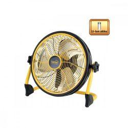 Padlóventilátor, akkumulátoros, 30cm, 20 W