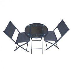Reggio kerti bútor szett szürke 2+1