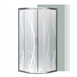 Spirit BAMBOO íves zuhanykabin, zuhanytálca nélkül