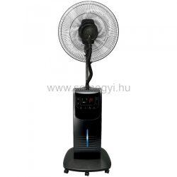 Párásító ventilátor, fekete, 90 W