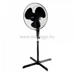 Állványos ventilátor, fekete, 40cm, 45 W
