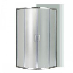 Spirit Matt 90x90 cm íves zuhanykabin zuhanytálca nélkül