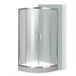 Spirit Matt 90x90 cm íves zuhanykabin zuhanytálcával
