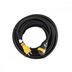 STANLEY lengőaljzat, IP44, 25m kábel, H07RN-F 3G1,5