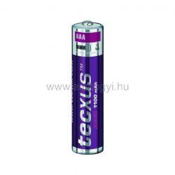 Akkumulátor, AAA, 1100 mA, Ni-Mh, 4 db/bliszter