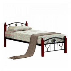 MAGENTA fém ágy ágyráccsal, 90x200