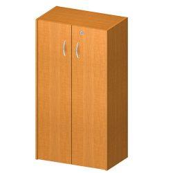 Polcos szekrény zárral, cseresznye, TEMPO ASISTENT NEW 034