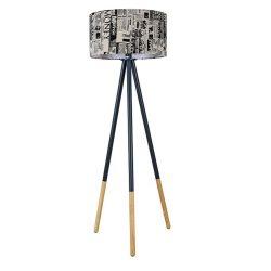 CINDA TIP 6 YF6253 Állólámpa, fekete fém/anyag