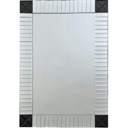 ELISON TIP 3 Tükör, ezüst/fekete