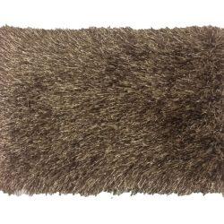 Szőnyeg, barna, 140x200, GARSON