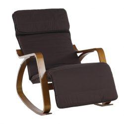 Hinta szék, barna nyírfa, barna anyag, SIVERT