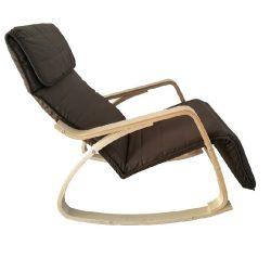 Hinta szék, nyírfa, barna anyag SIVERT