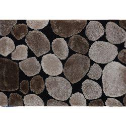 Szőnyeg, barna-fekete, 120x180, PEBBLE TYP 2