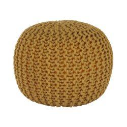 Kötött ülőke, mustár színű pamut, GOBI tip 2