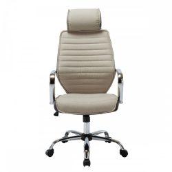 DENZEL Irodai szék, bézs-barna