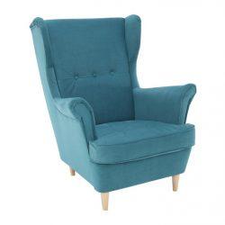 Füles fotel, petróleum-bükk, RUFINO