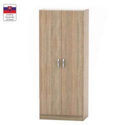 2-ajtós szekrény, tölgy sonoma, BETTY 2 BE02-002-00