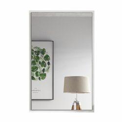 Modern fésülködő asztalhoz tükör,VIOLET, fehér