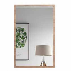 Modern fésülködő asztalhoz tükör,VIOLET,  sonoma tölgy