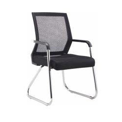 SARIS New modern szék, fekete - króm