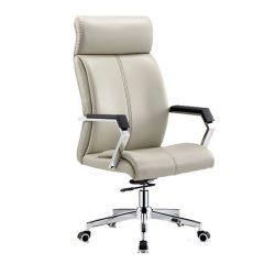 ERICO Irodai szék, elefántcsont-króm