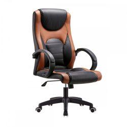 BADY Irodai szék, barna-fekete