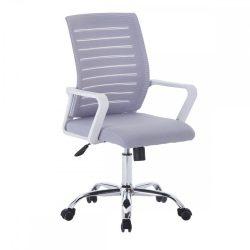 CAGE Irodai szék, fehér-szürke