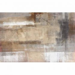 Szőnyeg, barna-szürke, 160x230, ESMARINA TYP 1